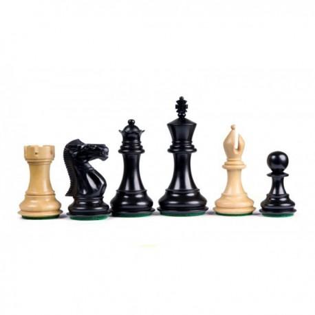 Stallion Staunton Black Chess Pieces