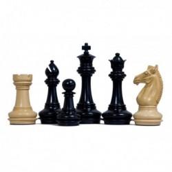 Piezas de ajedrez Staunton Meghoot Black