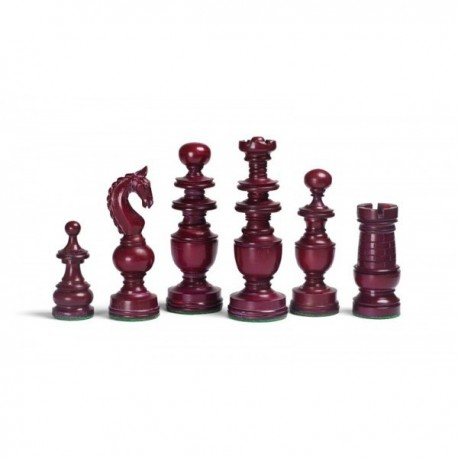 Piezas de ajedrez Regency en hueso