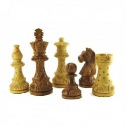 Piezas de ajedrez Staunton especial negras
