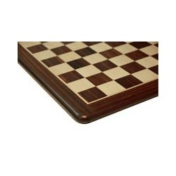 Tablero de ajedrez de lujo de palisandro