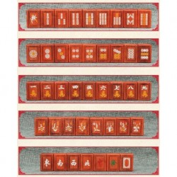 Mahjong de Palo de Rosa