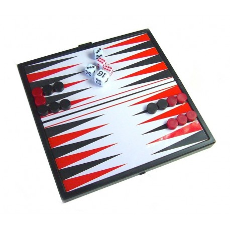 Foldable Magnetic Backgammon