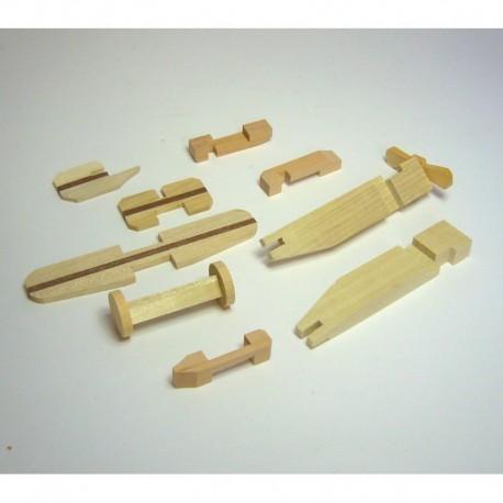 """Puzzle Japonés """"Avión"""""""