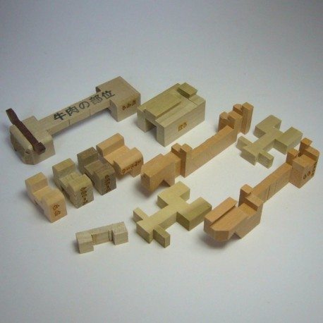 "Japanese Puzzle ""Cow"""