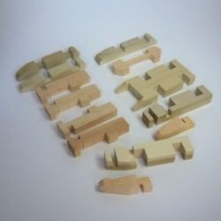 """Puzzle Japonés """"Elefante"""""""