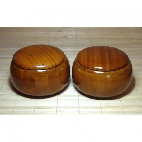 Cuencos de Go de Bambú