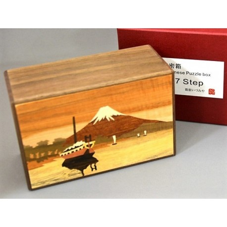 Himitsu-Bako Fuji 5 Sun 27 Steps