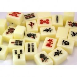 Mahjong Japonés Blanco