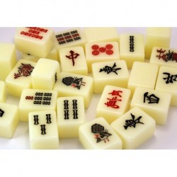 White Japanese Mahjong