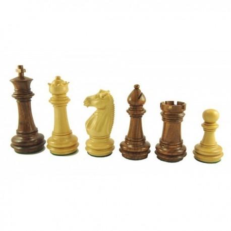 Piezas de ajedrez Meghdoot Sheesham