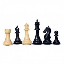 Piezas de ajedrez New Staunton ébano
