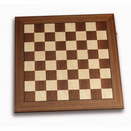 DGT electronic maple and walnut chess board