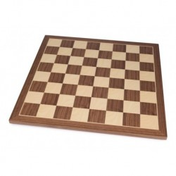 Walnut Chess Board (boxes 50 mm)