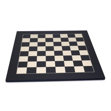 Tablero de ajedrez de arce negro (casillas 50 mm)