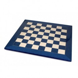Blue Maple Chess Board (boxes 55 mm)
