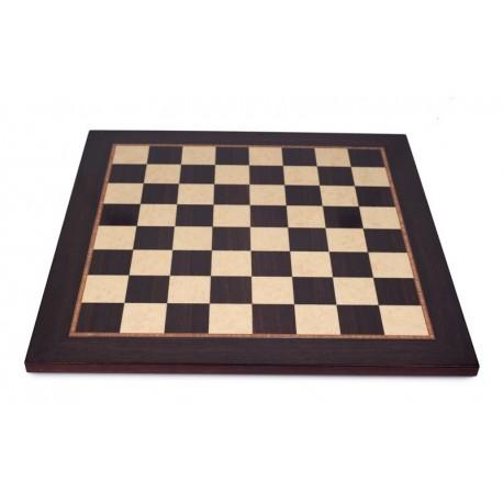 Tablero de ajedrez palisandro-arce satinado (casillas 50 mm)