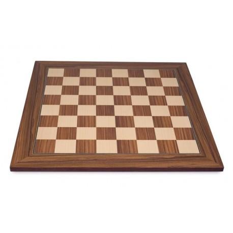 Tablero de ajedrez palisandro (casillas 45 mm)