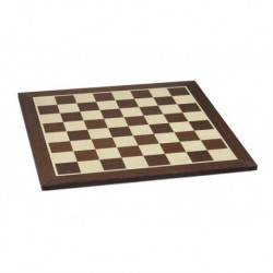Wengue standard chessboard (boxes 50 mm)