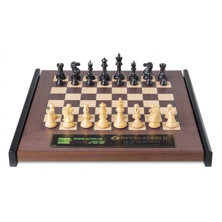 Electronic Chess Revelation II + Ebony Parts DGT