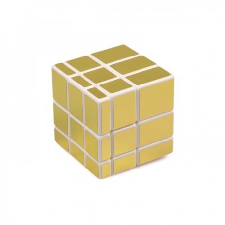 Cube Mirror doré