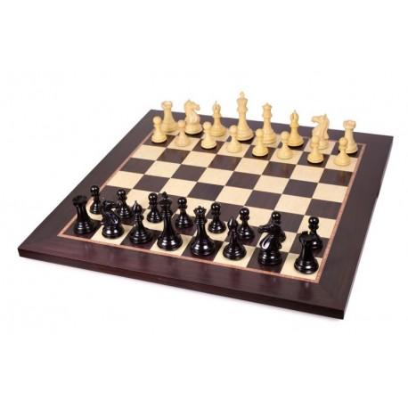 Full game chess master ebony