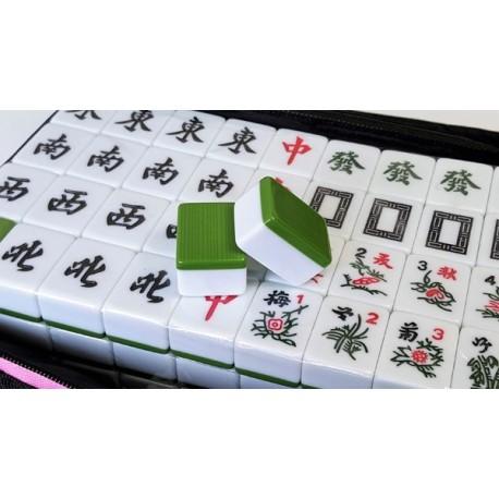 Mahjong Clásico Verde Grande