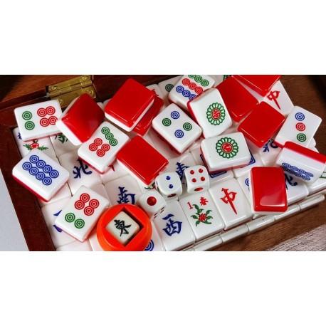 """Pequeño Mahjong """"Red Wine"""""""