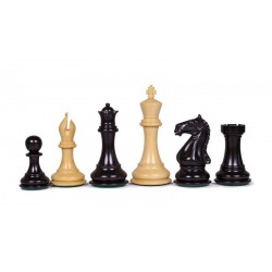 Staunton Supreme Chess Pieces - Black T.4