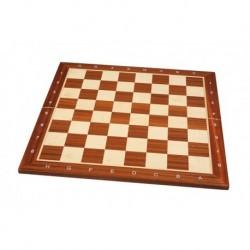 Folding mahogany-dyed wooden board