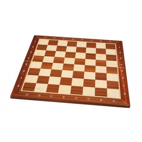 Tablero de madera teñido de caoba plegable