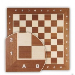 Mahogany and White Birch Board No. 5
