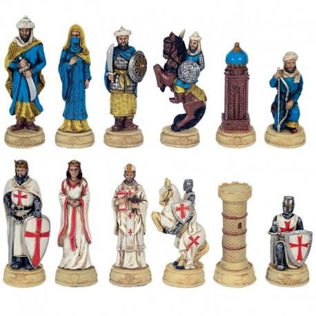 Piezas de ajedrez cruzados sarracenos - 3