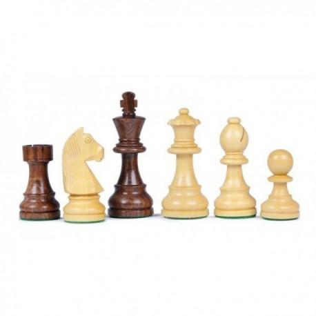 Piezas de ajedrez Sheesham n°2 , plomo - fieltro
