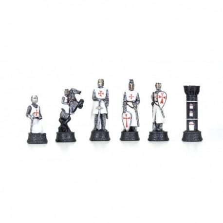 Piezas de ajedrez Templarios n°3