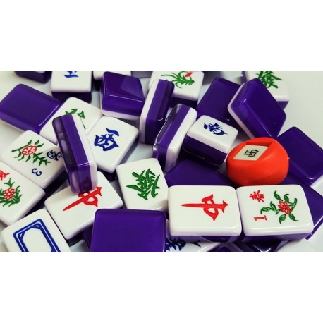 Mahjong Purple - Small