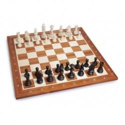 Conjunto de ajedrez caoba N°5