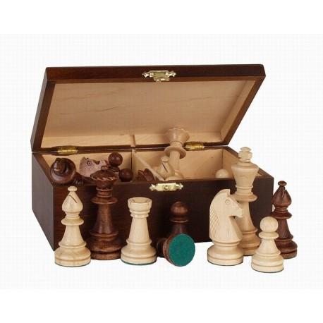 Piezas de ajedrez de olmo n°5