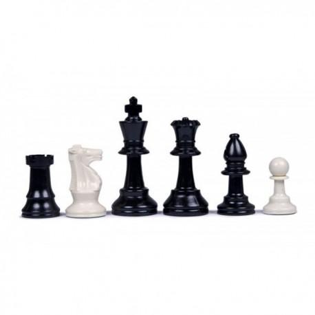 Piezas de ajedrez de plástico, fieltro N º 3 (sin forro )