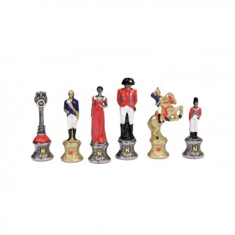 Napoleon Metal Chess Pieces