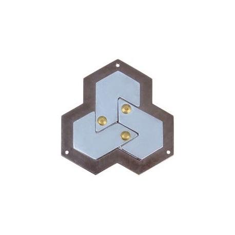 Cast Huzzle Hexagon - nivel 4