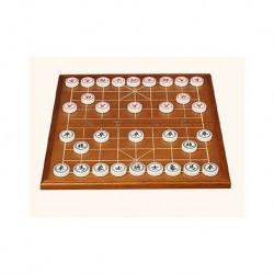 Conjunto Xiang Qi en palo de rosa y piezas en acrilico