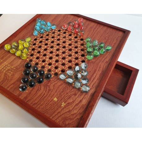 Chinese Checkers Glass Stones