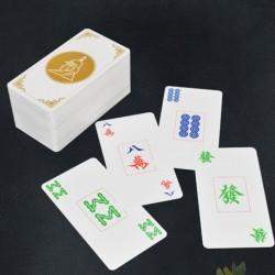 Cartas de Mahjong 100% Plástico