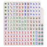 Mahjong Americano - Orquidea Azul