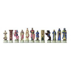 Saracen Cross Chess Pieces - 3