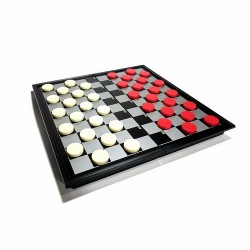 French magnetic checkers 25cm