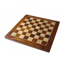 Rosewood Chess Board (boxes 50mm)