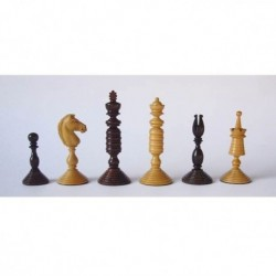Pieces Chess Artistic Palisandro