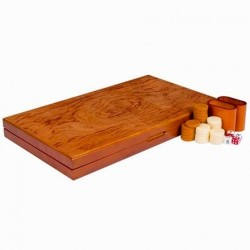 Gran Backgammon XXL - Caoba
